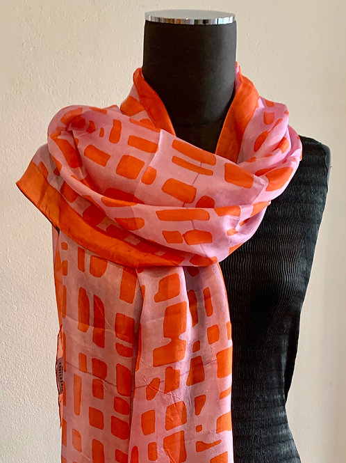 Directions Big Fun Silk  Scarf