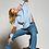 Thumbnail: Z &P Kylie Check Detail Funnel Neck Jumper