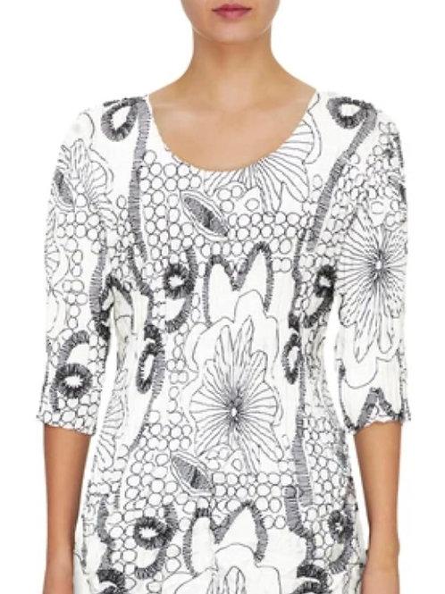 Alquema 3/4 slv Smash Dress