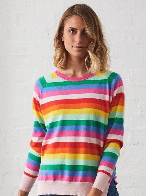 Z & P  Emma Multi Stripe Top