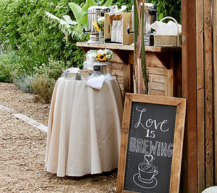 beverage station for wedding or outdoor party.jpg