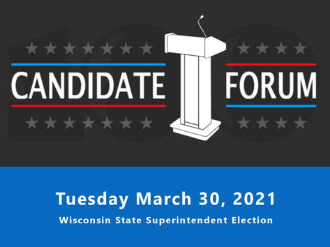 Tuesday Candidate Forum