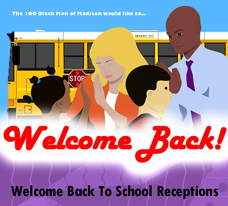 Welcome Back To School Receptions Banner