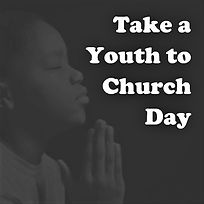 Take a Youth to Church Day 2019 Logo SQU