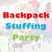 Backpack Stuffing Party 2019 SQUARE Logo