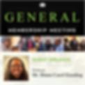 March General Membership Meeting 2020 Ba