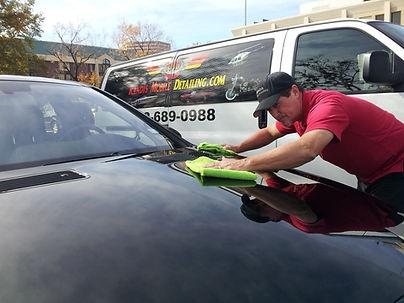 Randys Mobile Detailing Polishing hood