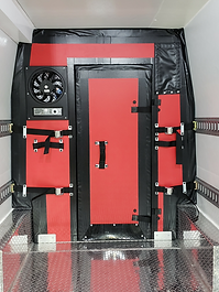 Movable Bulkhead With Fan and Door Insta
