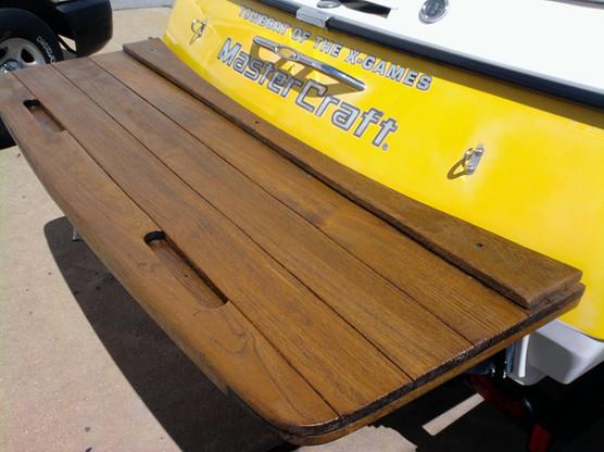 Boat Master Craft Teak Wood Refinish2.jp