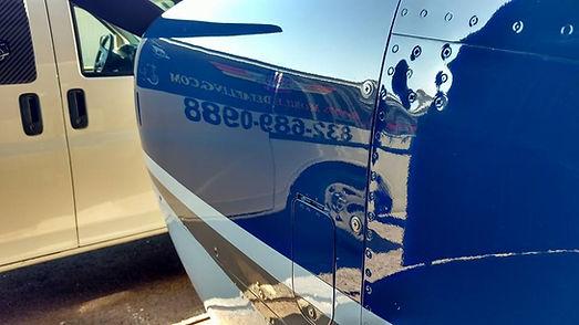 Randys Mobile Detailing System X Ceramic Coating Aircraft Detailing