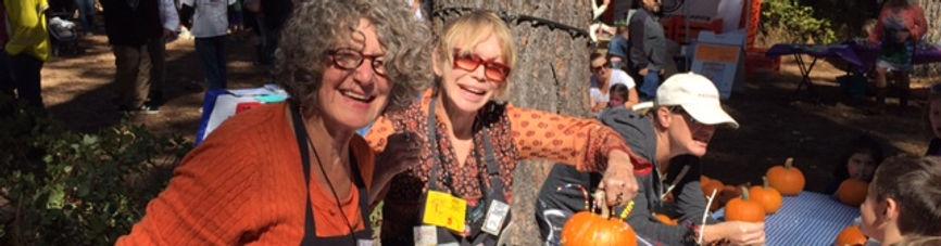 Sally and Jane. Paint the Pumpkin 2015.j