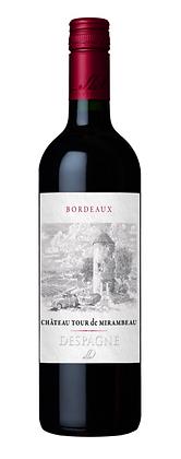 2016 Château Tour de Mirambeau Bordeaux Rouge, France  - Case of 6 x 75cl