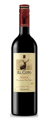 2015 Rioja Crianza, El Coto - Case 12x75cl
