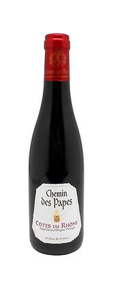 2018 Côtes du Rhône 'Chemin des Papes', Half Bottles - Case 6x37.5cl