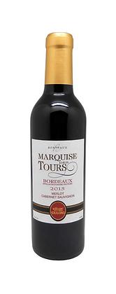 2016 Marquise des Tours, Bordeaux Rouge, Half Bottles - Case 12x37.5cl
