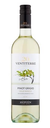 2017 Pinot Grigio 'Ventiterre', delle Venezie, Zonin - Case 6x75cl