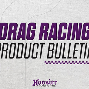 Hoosier Announces New 28.0/10.5R-17 and 28.0/10.5R-18 Bracket Racing Tires