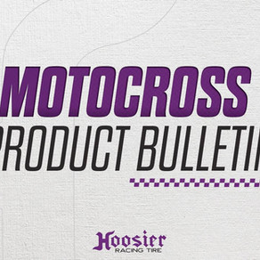 Hoosier Releases New 80/100-21 Stiff Construction to Offroad Lineup