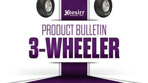 Hoosier Tire Reintroduces 3-Wheeler Tri Trac FrontHoosier Tire Reintroduces 3-Wheeler