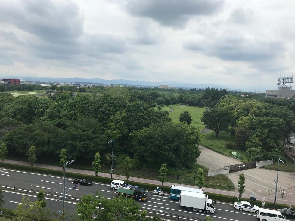 Showa Commemorative Government-run Park stands in Tachikawa City, Tokyo.