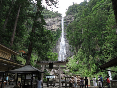The Nachi Falls in the south of Wakayama Prefecture.