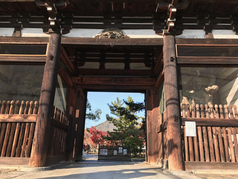 """""""Koryu-ji"""" is the oldest Buddhist temple in Kyoto."""
