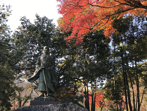 """""""Suminokura Ryoi"""", a wealthy merchant in Kyoto, is called the father of water  transport."""