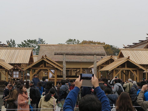 'The  Daijosai' rite is held as a series of court rituals for the new Emperor's enthronement.
