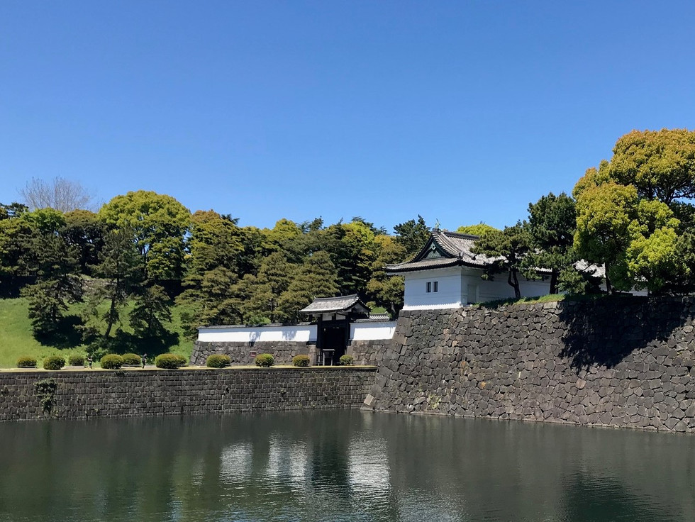 Sakurada-mon gate of Edo Castle is on the list of Important cultural assets.
