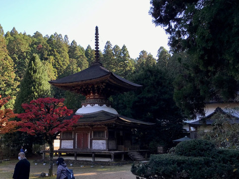 """""""Kongosanmai-in"""" is an element of one of a World Heritage Sites of Japan."""