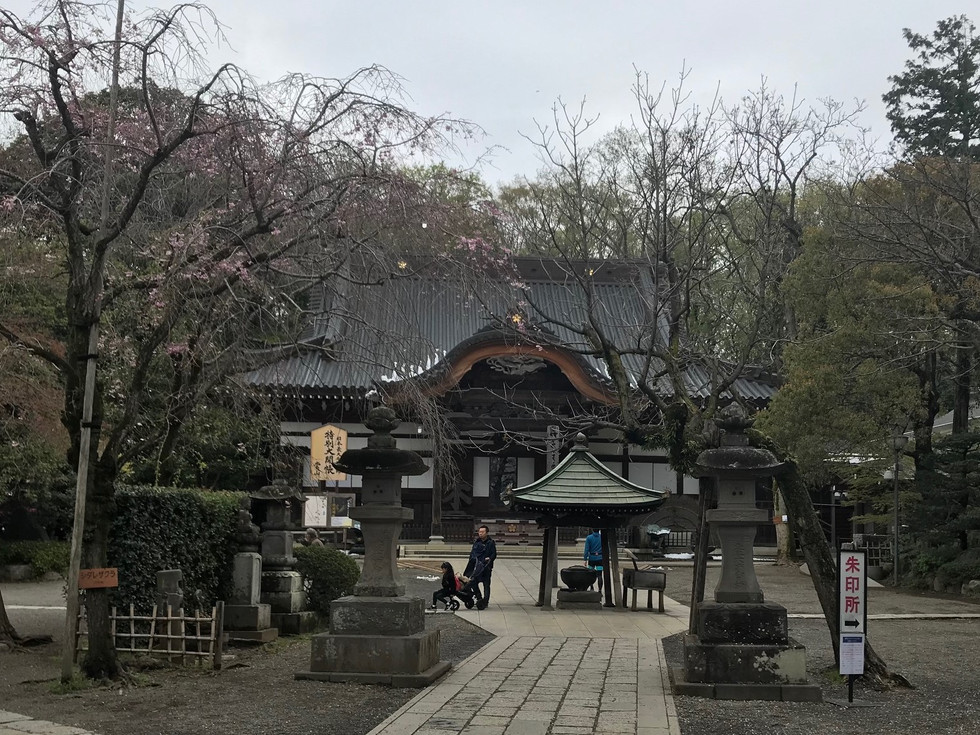 Jindai-ji in Chofu City is the second oldest Buddhist temple in Tokyo.