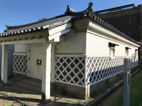 'Kinzo', also known as 'Kanegura', which is the treasure house of Osaka Castle, was built in 1751.