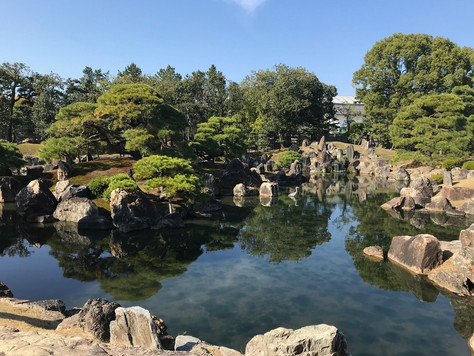 """Ninomaru Teien"" of Nijo Castle in Kyoto is one of the greatest Japanese gardens."