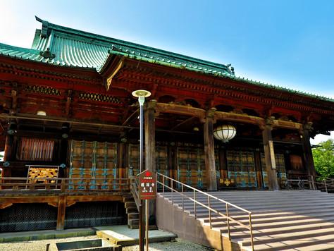 Gokoku-ji Buddhist temple in Bunkyo-ku, Tokyo, was erected by Tokugawa Tsunayoshi, the 5th shogun.