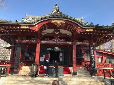 'Matsuchi-yama Shoden' is a branch temple of Sensoji Buddhist Temple in Asakusa, Tokyo.
