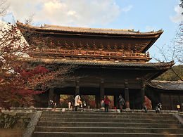 """San-mon"" of Nanzen-ji Temple in Kyoto is one of the greatest gates in Japan."