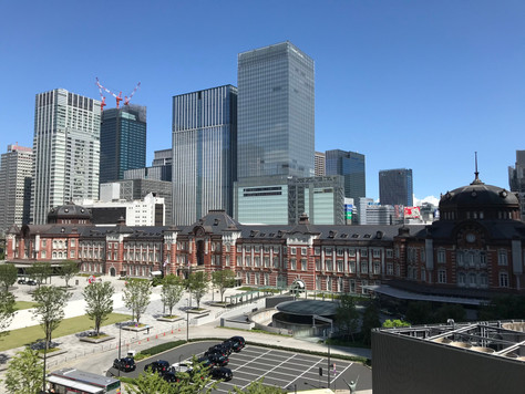 Tokyo Station Building in Chiyoda-ku, Tokyo, was built in 1914.