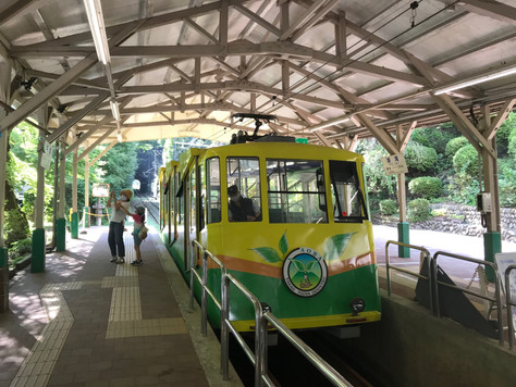 The cable railway of Mt. Takao started in 1927 as the second cable railway service in Japan.