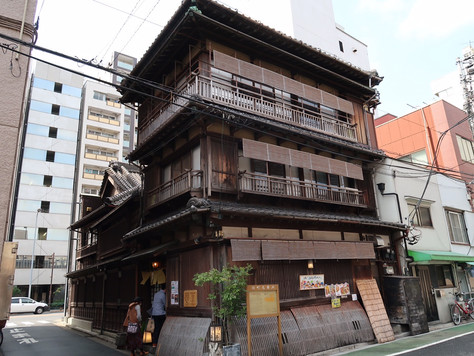 """Hantei"" restaurant in Bunkyo-ku, Tokyo, is designated as a tangible cultural property."