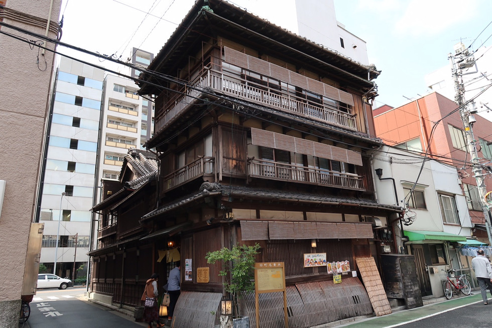 """Hantei"" restaurant in Bunkyo-ku, Tokyo, is designated as a tangible cultural property."
