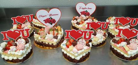 Cream tart d'amore