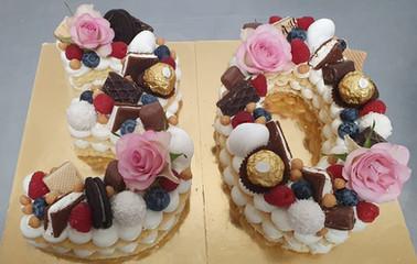Cream tart Trentesimo compleanno