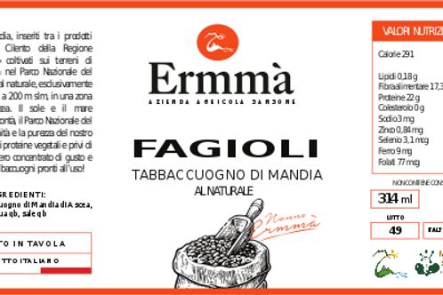Fagioli  Tabbaccuogno secchi  sottovuoto 0,5 kg
