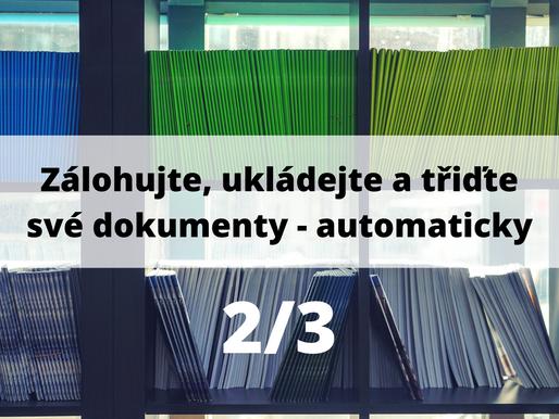Zálohujte, ukládejte a třiďte své účetní dokumenty - automaticky 2/3