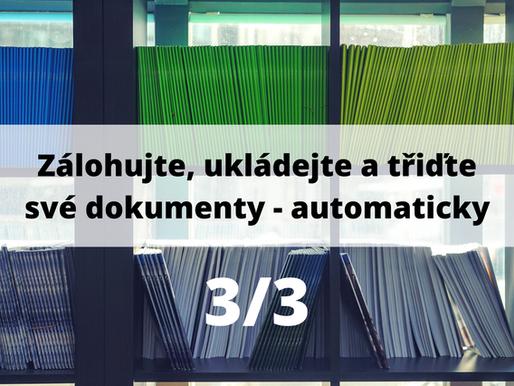 Zálohujte, ukládejte a třiďte své účetní dokumenty - automaticky 3/3