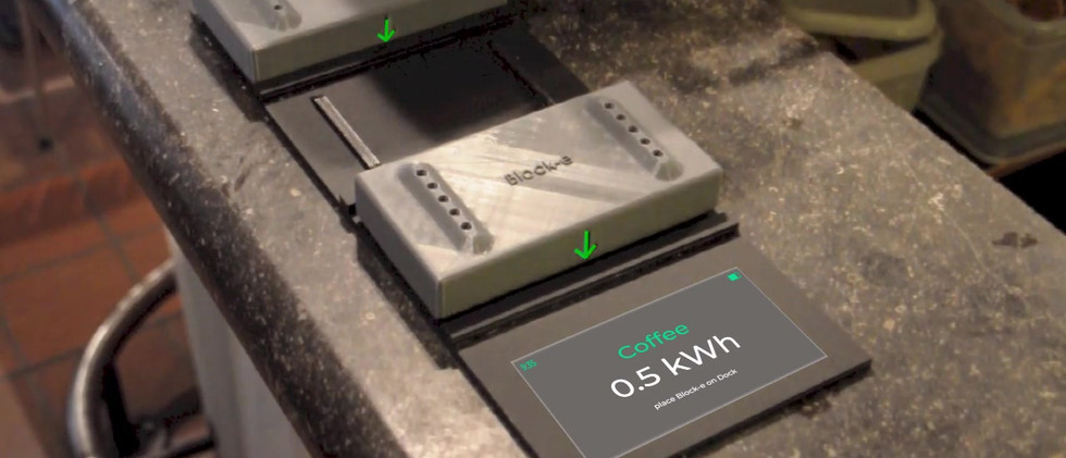 Block-e clean energy as the new currency