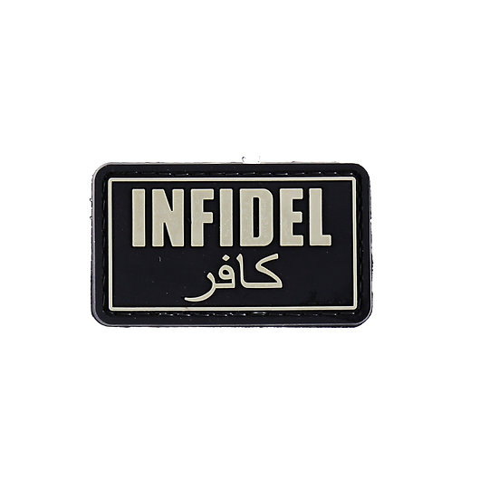 Infidel Rubber Morale Patch