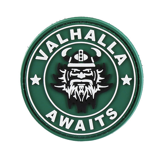 Valhalla Awaits Rubber Morale Patch