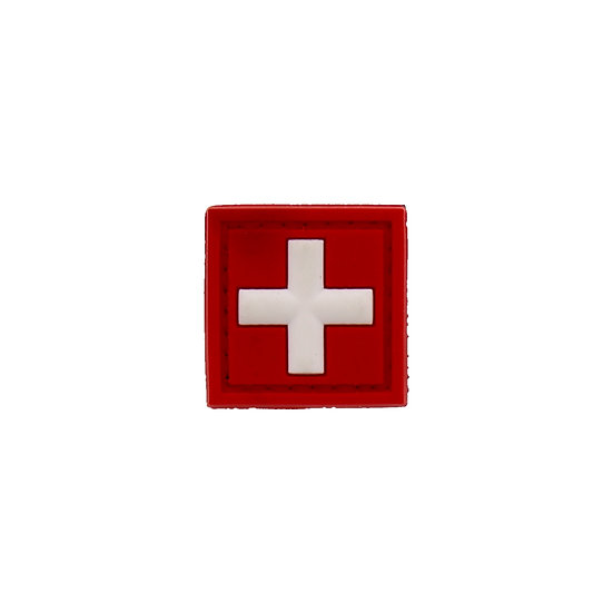 Medic Cross Small Rubber Morale Patch