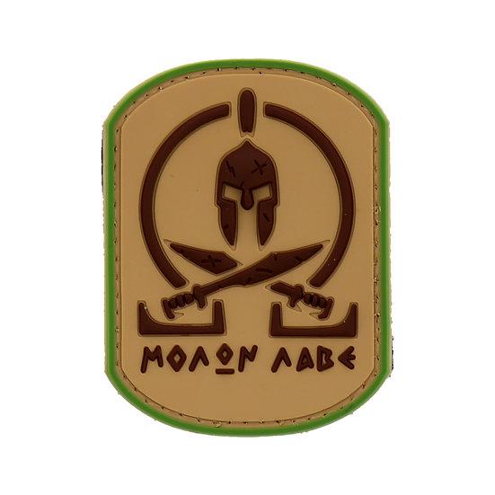 Molon Labe Rubber Morale Patch